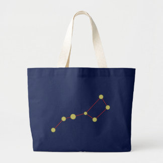 Constellation of large ones cars constellation big tote bag