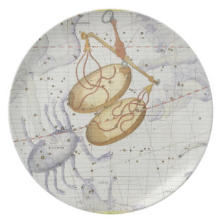 Constellation of Libra, plate 7 from 'Atlas Coeles