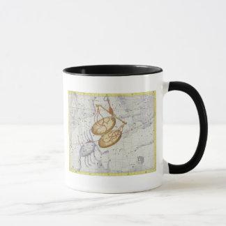 Constellation of Libra, plate 7 from 'Atlas Coeles Mug