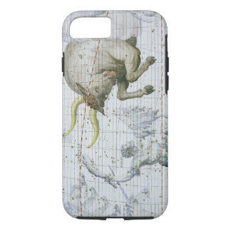 Constellation of Taurus, plate 2 from 'Atlas Coele iPhone 8/7 Case