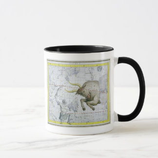 Constellation of Taurus, plate 2 from 'Atlas Coele Mug