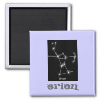 Constellation Orion 2 Inch Square Magnet