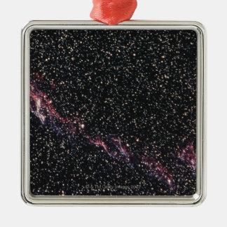 Constellation Square Metal Christmas Ornament