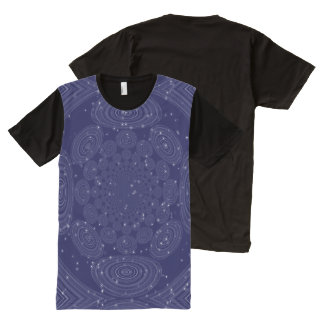 Constellation Parallel Universe Shibori Space Time All-Over Print T-shirt