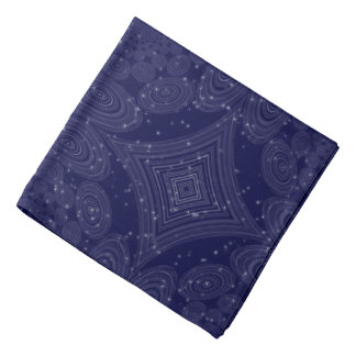 Constellation Parallel Universe Shibori Space Time Bandana