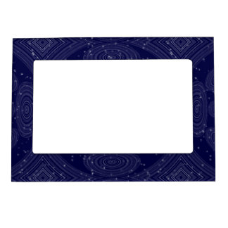 Constellation Parallel Universe Shibori Space Time Magnetic Picture Frame
