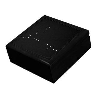 Constellation Pisces by Leslie Peppers Keepsake Boxes
