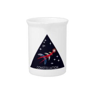 Constellation Program Logo Drink Pitcher
