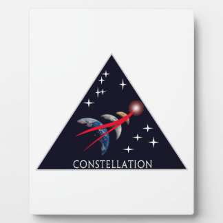 Constellation Program Logo Plaque