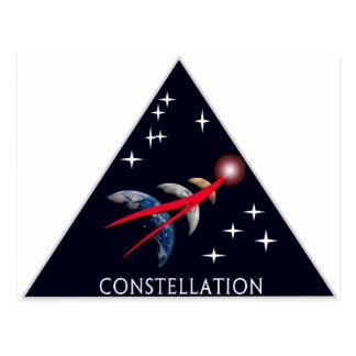 Constellation Program Logo Postcard