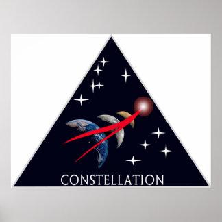Constellation Program Logo Poster