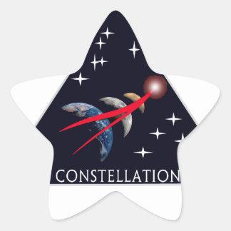 Constellation Program Logo Star Stickers