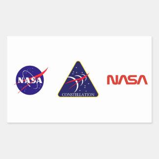 Constellation Program Logo Rectangular Stickers