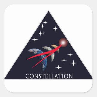 Constellation Program Logo Square Stickers