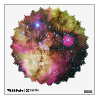 Constellation Puppis, NGC 2467 - Table Ornament Wall Skin