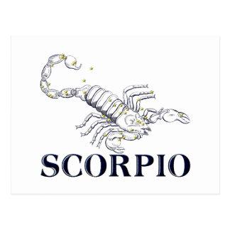 Constellation: Scorpio Postcard
