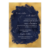 Constellation Star Celestial Wedding Invitation
