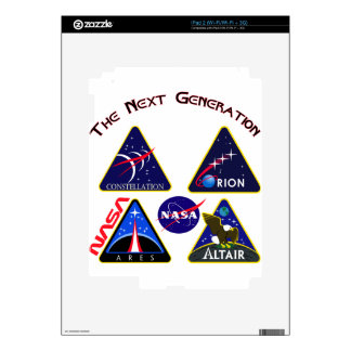 Constellation: The Next Generation Decal For The iPad 2