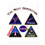 Constellation: The Next Generation Postcard
