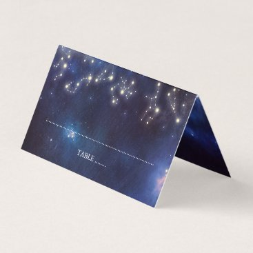 Wedding Themed Constellation Wedding Place Card