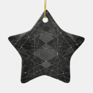 Constellations 2 ceramic ornament