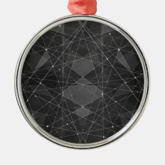 Constellations 2 metal ornament