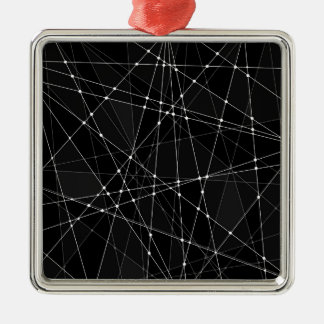 Constellations 3 metal ornament