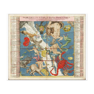 Constellations from Antiquity Canvas Print