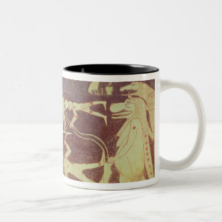 Constellations, from the funerary chamber Two-Tone coffee mug