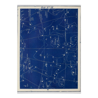 Constellations Hercules and Others Poster