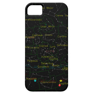 Constellations Map of the Sky iPhone SE/5/5s Case