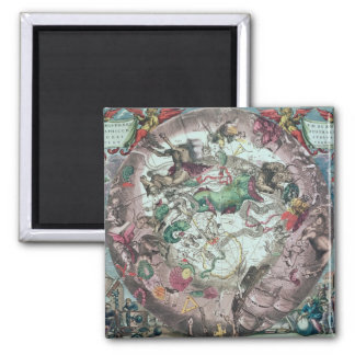 Constellations of the Southern Hemisphere 2 Inch Square Magnet