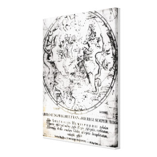 Constellations of the Southern Hemisphere Canvas Print