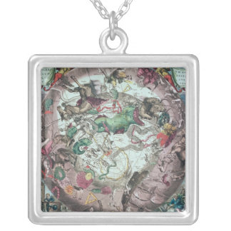 Constellations of the Southern Hemisphere Silver Plated Necklace