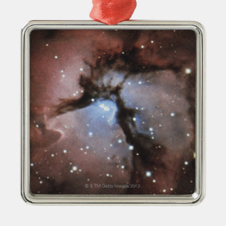 Constellations Square Metal Christmas Ornament