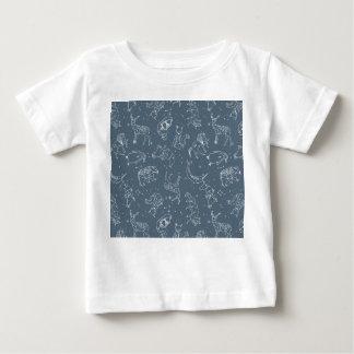 Constellations Zodiac / Blue Night / Andrea Lauren Baby T-Shirt
