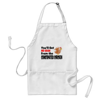 Constipated Chicken Aprons