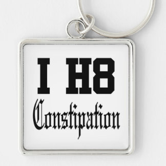 constipation keychain