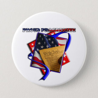 ConstiProgressive1 Pinback Button