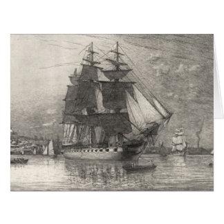 Constitución 1911 de USS Tarjeta De Felicitación Grande