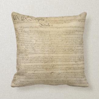 Constitución de Estados Unidos Almohadas