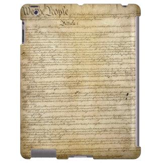 Constitución de Estados Unidos del vintage