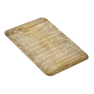Constitución de Estados Unidos del vintage Imán