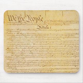 Constitución de Estados Unidos Mousepad