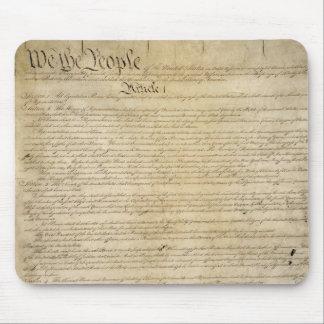 Constitución de Estados Unidos Tapete De Raton