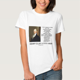 Constitución de Henry Clay de la posteridad de Camisas
