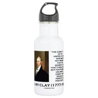 Constitución de Henry Clay de la posteridad de