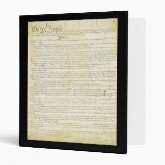 Constitución de la carpeta de Estados Unidos