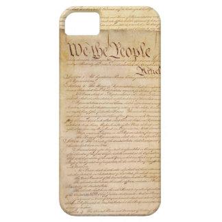 CONSTITUCIÓN DE LOS E.E.U.U. FUNDA PARA iPhone SE/5/5s