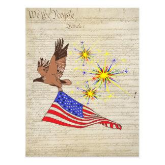 Constitución de los E.E.U.U. Tarjetas Postales
